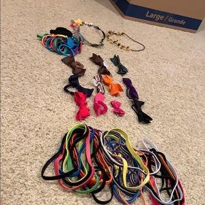 Hair bundle of accessories